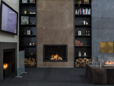 Monroe F, Decorex Fairs London 2018 Distributor Modus Fireplaces